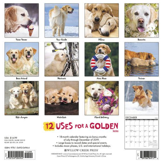 12 Uses for a Golden Kalender 2021
