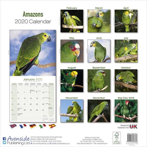 Amazone Kalender 2020